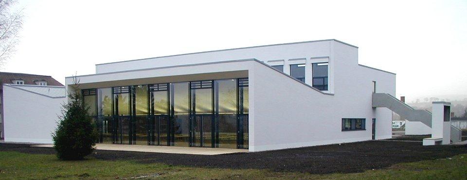 Fortbildungsinstitut Thüringer Polizei Meinigen Neubau Kantinen- und Unterrichtsgebaeude