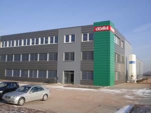 Beratung Fertigungshalle Firma Dörfel Arnstadt