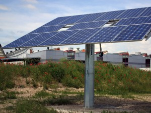 Fraunhofer Anwendungszentrum Systemtechnik Ilmenau, Neubau einer Versuchshalle Solar