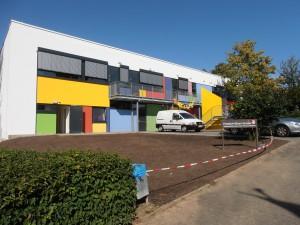 Friedrich Ebert Schule Schwalbach, Erweiterung alte Sporthalle zum Ganztagesbereich