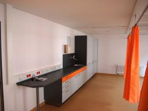 Henne Kaserne Erfurt, Sanierung Standortsanitätszentrum, Behandlung