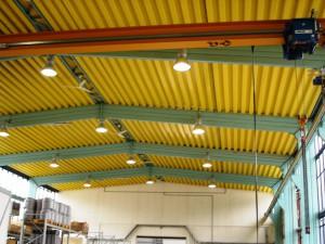 Industrie und Gewerbepark Stadtlengsfeld, Neubau Stahlfertigteilhalle an Lösehalle