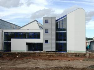 Industrie und Gewerbepark Stadtlengsfeld, Neubau Shedhalle