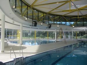 KölnBaeder, Neubau Eis- und Schwimmstadion Lentpark Köln, Schwimmbad