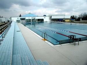 Marienbad Brandenburg, Flexible Überdachung 50m Sportbeckens