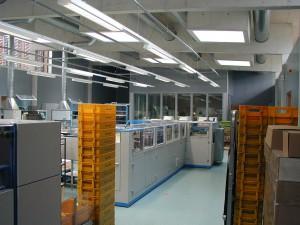 Neubau Behördenzentrum Erfurt, Zentrum für Informationsverarbeitung, Poststelle