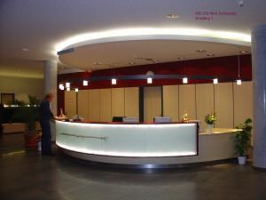Neubau HELIOS Klinik Schkeuditz, Empfang