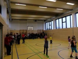 Sanierung Sporthalle Oßmannstedt