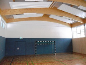 Sanierung Sporthalle der Grundschule Wölfis