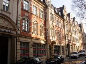 Umbau und Sanierung Kreissparkasse Gotha Lutherstaße 2-4