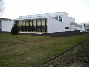 Fortbildungsinstitut der Thüringer Polizei Meinigen, Neubau Kantinen und Unterrichtsgebäude