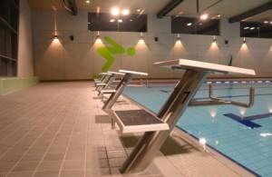 Neubau Freizeit und Sportbad Backnang Starterblöcke