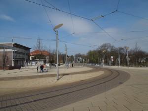 Umgestaltung Bahnhofsvorplatz Gotha - Platzbeleuchtung