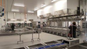 Meyer Menü, Neubau Großküche in Siek