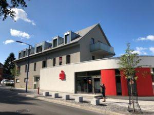 Neubau Wohn-/Geschäftshaus mit Bankfiliale, Zella-Mehlis