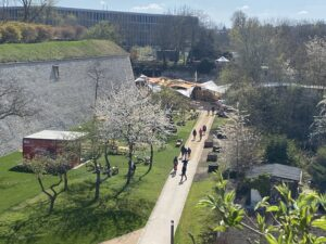 BUGA 2021 – Petersberg Erfurt  – Anbindung technische Infrastruktur